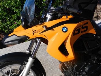 BMW F650GS by canarymoto