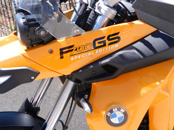 BMW F700GS by canarymoto