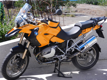 BMW R1200GS by canarymoto